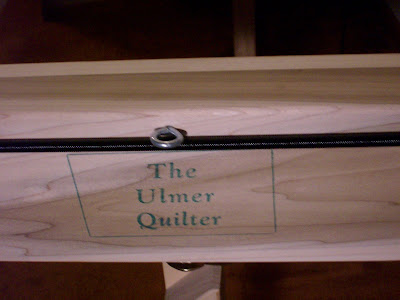 HOMEMAKING DREAMS: Show and Tell Friday - My Ulmer Quilter : ulmer quilt frame - Adamdwight.com