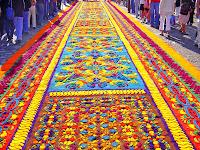 Las alfombras de Semana Santa