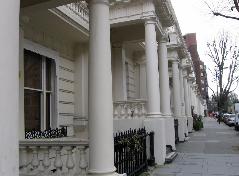 They look so grand from the front with the portico out front. Scroll  title=