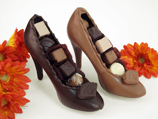 Chocolate High Heel Shoes