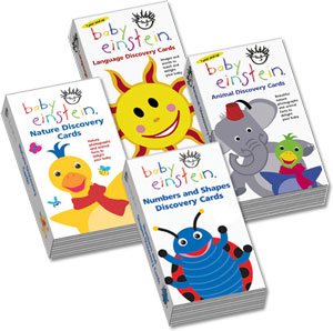 baby einstein animal discovery cards t