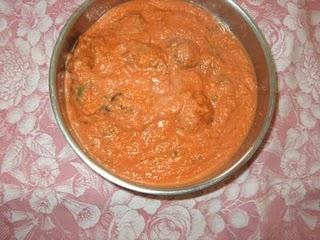 """Green Mango Gojju"""" f rom Champa tastes good with rice and roti. She ..."""