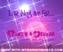 Recebi da Amiga Cris dona do Blog Olhos Esmeraldas