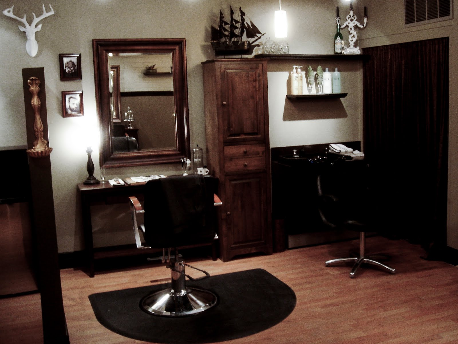 Ready for battle absinthe hair grooming parlour salt for Absinthe salon utah