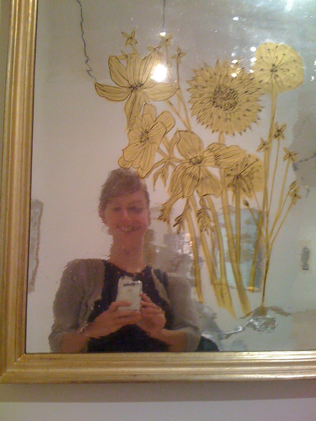 But the mirrors in Kiki Smith: Sojourn exhibition at the Brooklyn ...