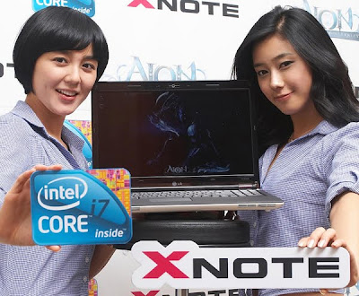 LG X-Note R590, a New i7 Powered Notebook from Korea