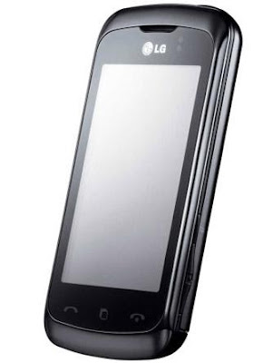 LG KM555E – 3-inch full-touchscreen mobile phone