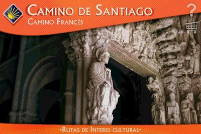 Portada de la aplicación para iPhone Camino de Santiago - Camino Francés