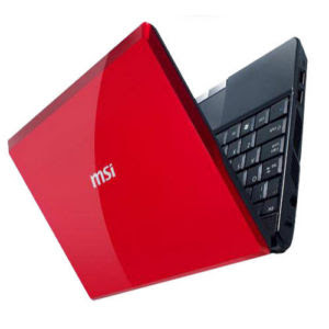 MSI WIND U123 RED