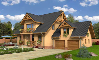 Maisons en bois en roumanie - Maison en bois en kit roumanie ...