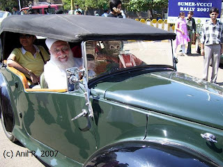 Windy Skies Vintage And Classic Cars Rally At Nariman Point