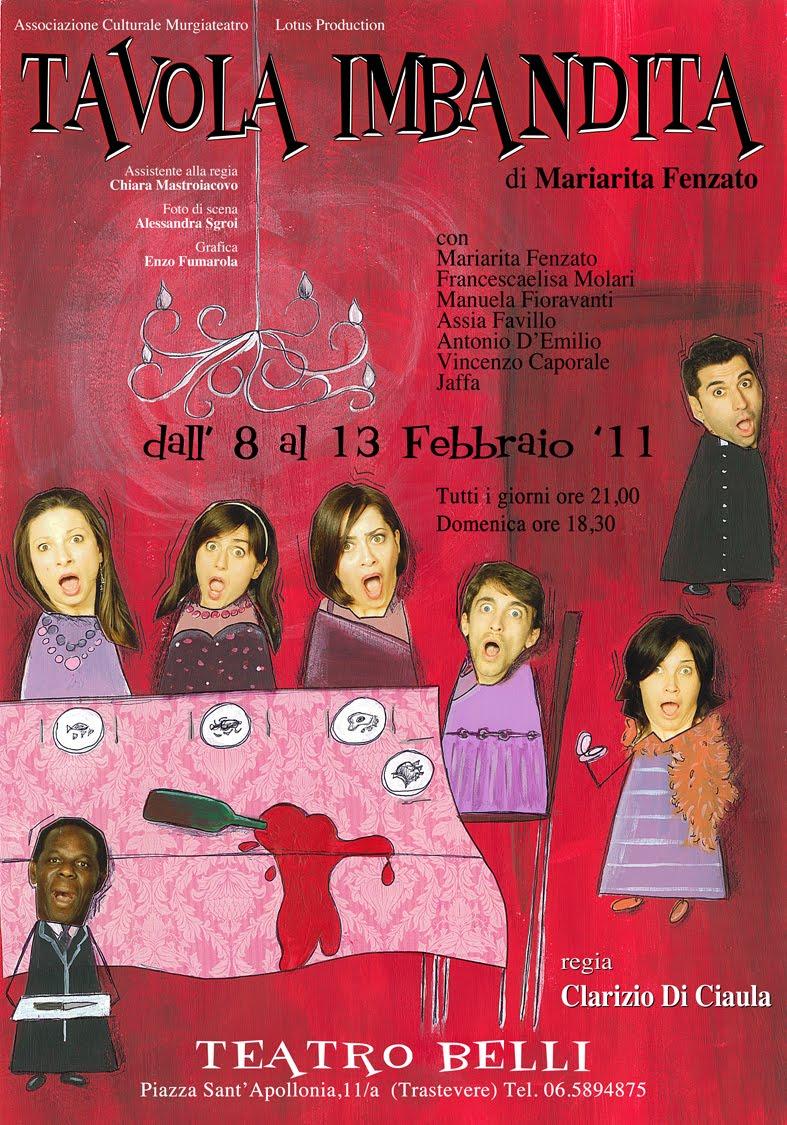 Cinema e teatro teatro belli tavola imbandita - 13 a tavola superstizione ...