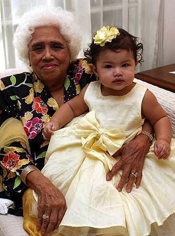 Tengku ratu haidar photo Comelnya Anak Que