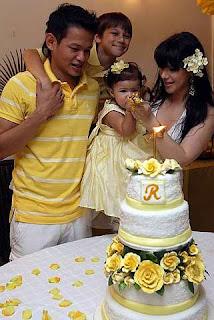 ... Majlis Hari Jadi Anak Que Haidar Dan Linda Jasmine,Tengku Ratu Haidar