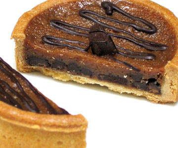 Dufflet's Caramel Chocolate Chunk Tart