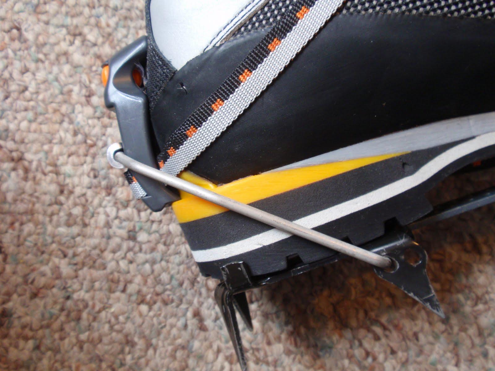 ice climbing crampons comparison essay