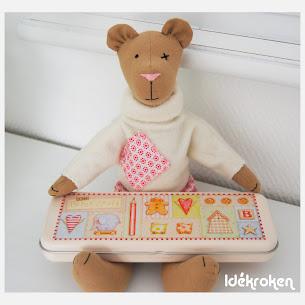 min første Tilda - bamse