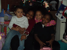 4 granddaughters Christmas 2010