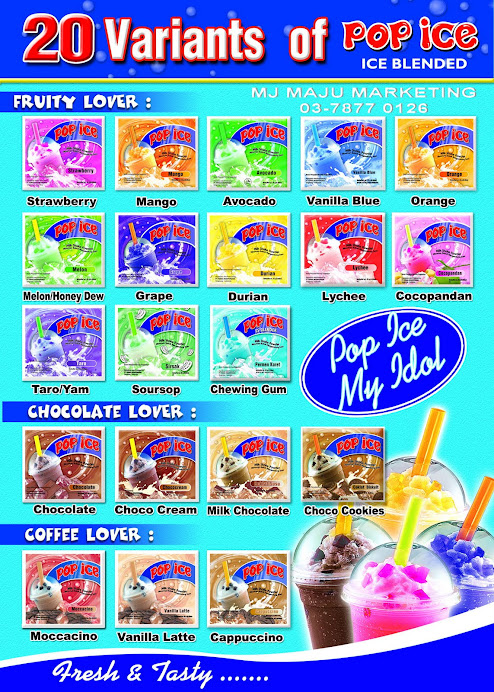 menu pop ice
