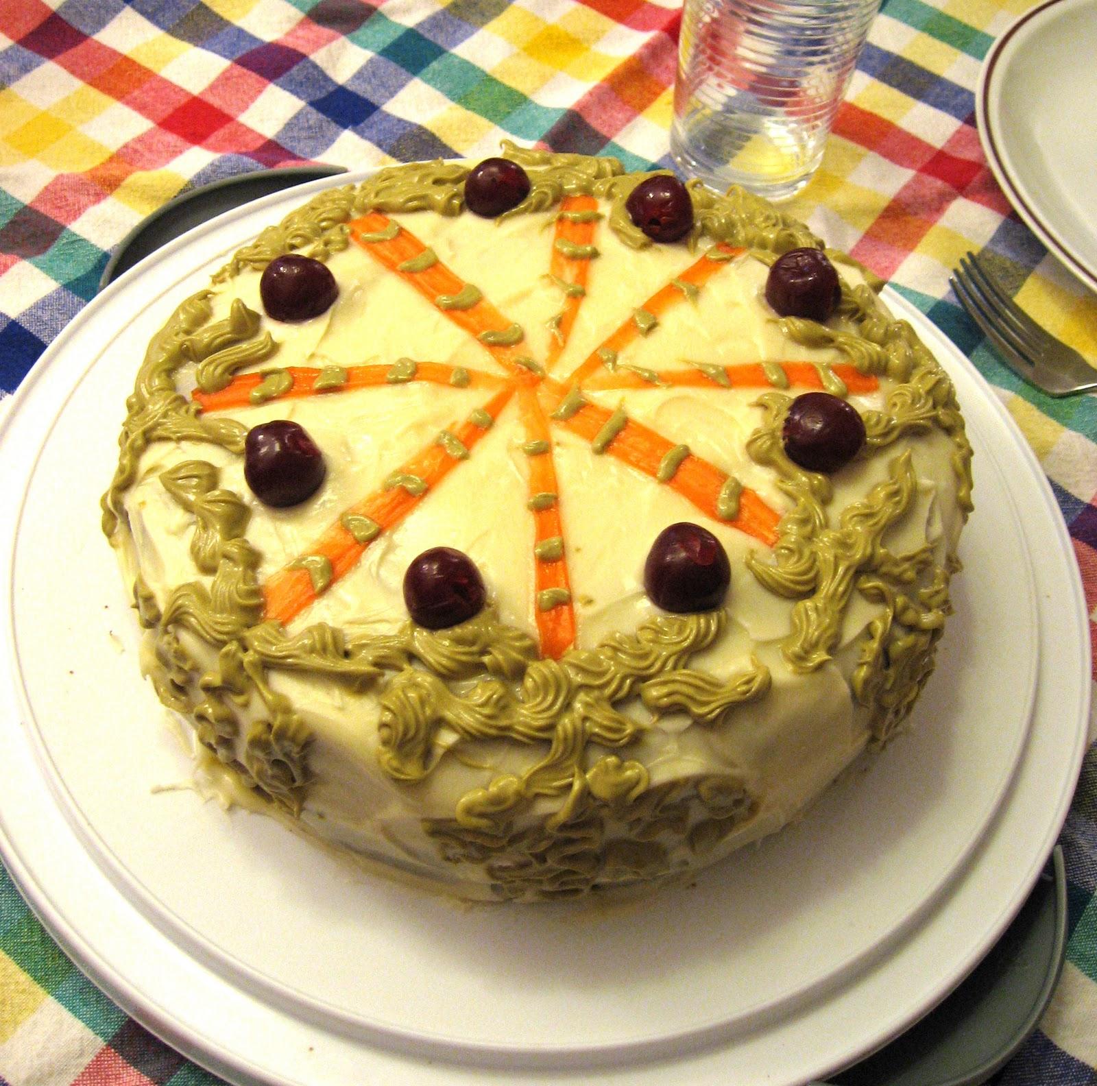 easy carrot cake Photo