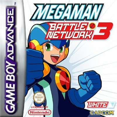 Mega Man Battle Network 3 : White Version GBA