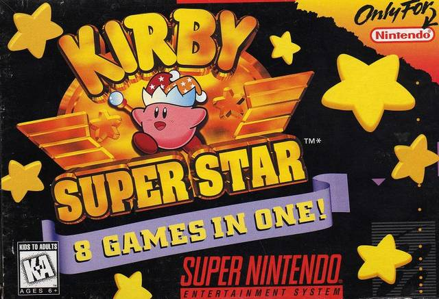 Kirby Super Star (USA)