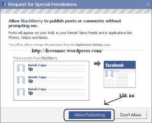 Tips Ponsel : Applikasi Update Facebook Serasa Memakai Blackberry