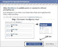 Tips Ponsel : Applikasi Update  Facebook Serasa Memakai Blackberry