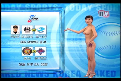 naked news korea video