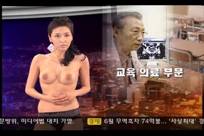 Video Naked news korea