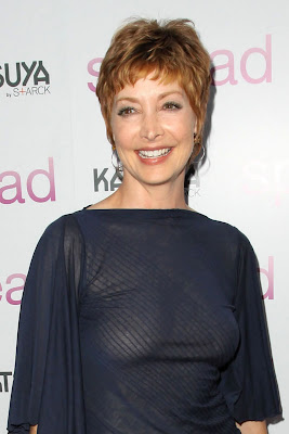 Sharon Lawrence Braless And See Through Boobs