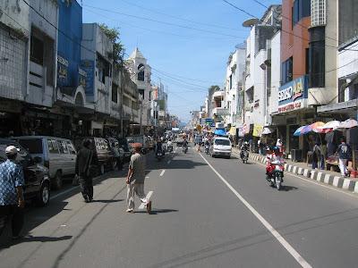 Sukabumi, A Yani Road