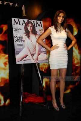 Sonam Kapoor Hot In MINI SKIRT at Maxim Magazine unveiling