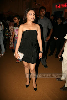 Hot Bollywood ACTRESS RANI MUKERJEE Photos From HDIL Couture Week 2010 Function