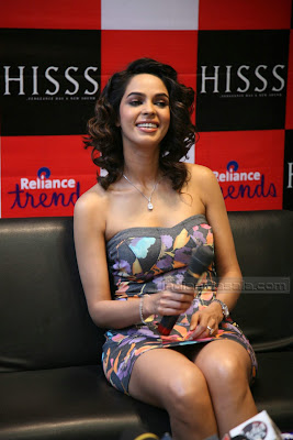 HOT INDIAN MASALA Actress Mallika Sherawat Spicy Hot Photos From HISSS promotion