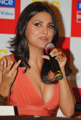 Actress Lara Dutta hot Photos  Bollywood Hot Beauty Lara Dutta ultimate hot figure display at her Yoga DVD launch gallery pictures