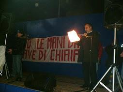 Manifestazione del 21 febbraio a Chiaiano