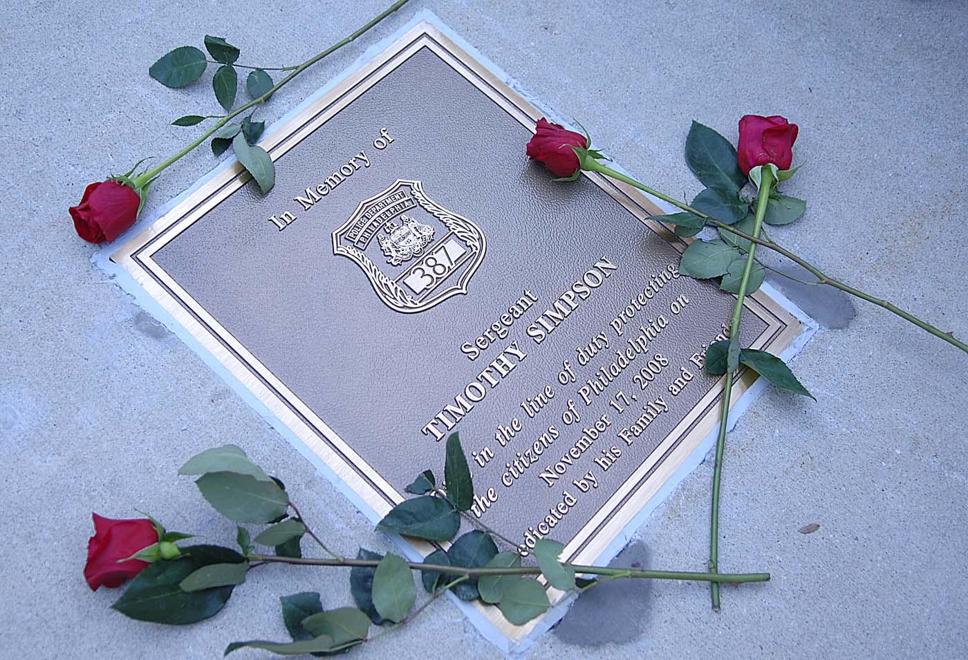 dedication plaque wording | just b.CAUSE