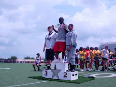 8th Grade Discus-Medal Ceremony