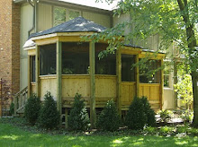 Custom Cedar Screened Porch