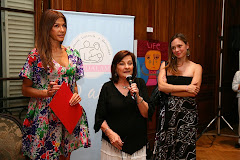Marta Martin, Catherine Fullop y Betina O`Connell