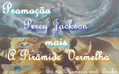 Promoção Percy Jackson + A Pirâmide Vermelha
