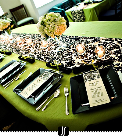 Chebria S Blog Black White Red Wedding Table Settings