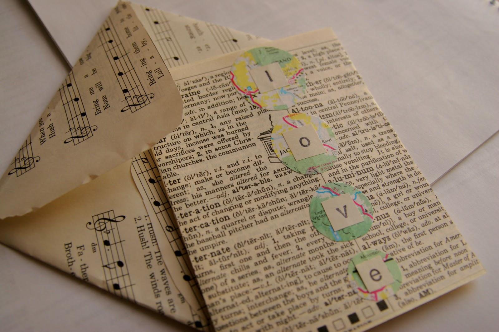 How to make scrapbook using recycled materials - Indoor Activities Day 11 Handmade Recycled Cards Envelopes