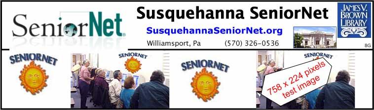 SeniorNet Test Blog