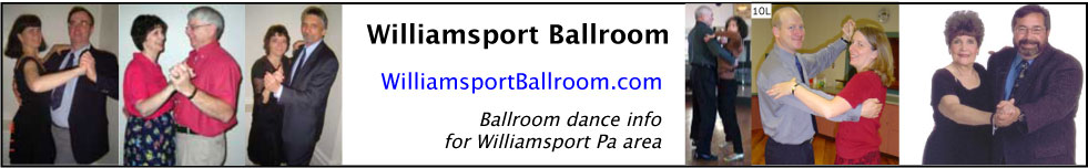 WilliamsportBallroom.com Dance Calendar