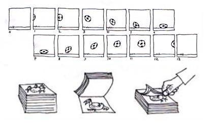 Как сделать мультик на блокноте своими руками