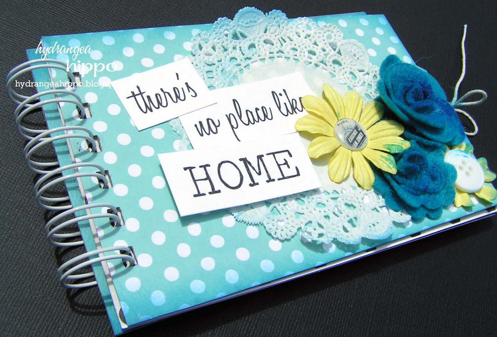 How to scrapbook at home - How To Make Scrapbook Book 4 6 Mini Book Make N Take Shop Hoppers Come