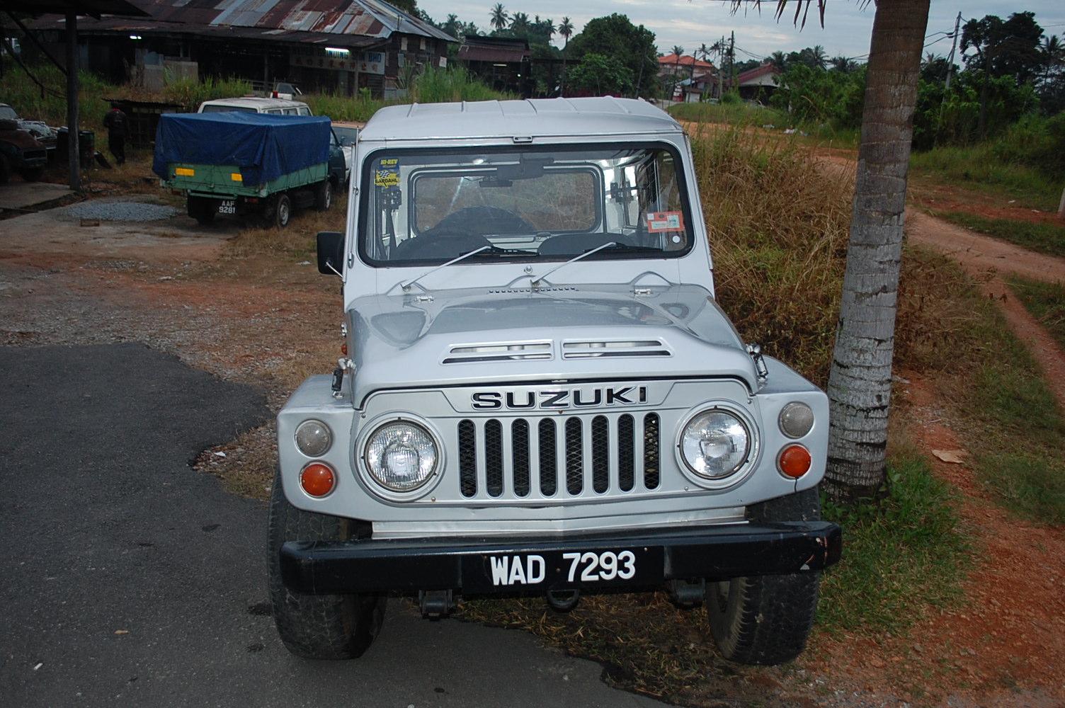 Suzuki 4x4 SJ Klasik Untuk Dijual