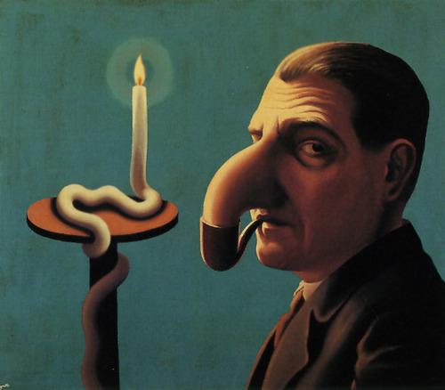 Magritte - Philosopher's Lamp